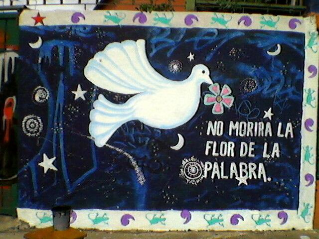 Fotos de mural en apoyo a la mujer a brigada callejera y for Mural zapatista