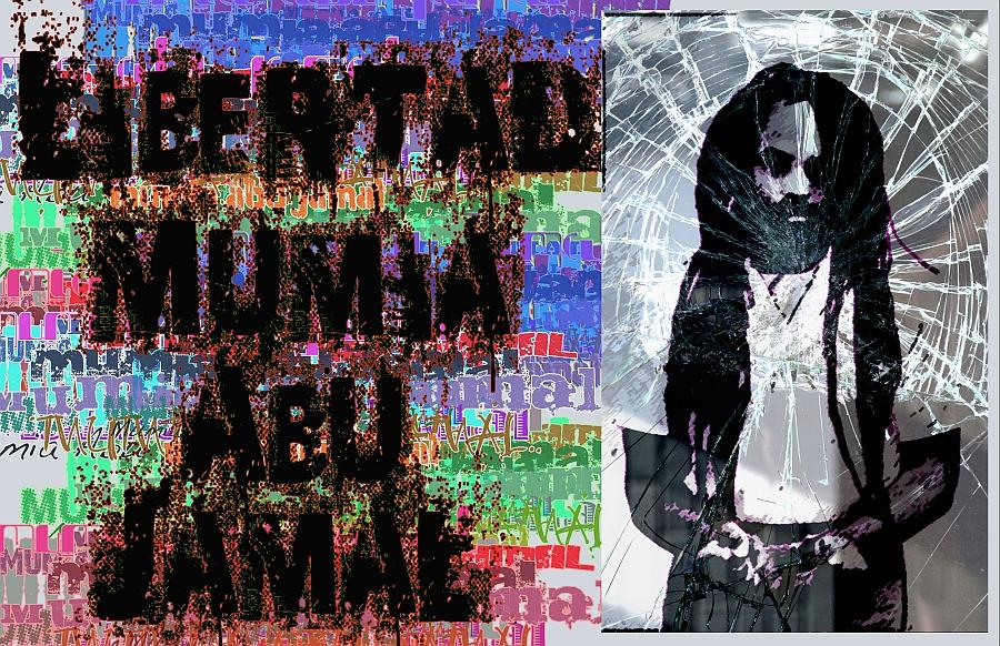 Resultado de imagen para Libertad a Mumia Abu-Jamal