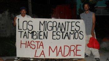 Vía Crucis migrante de Chiapas a Oaxaca